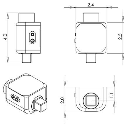 Dimensions Capteurs de couple ILTT